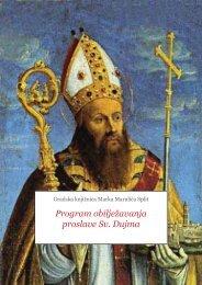 Preuzmite program proslave blagdana Sv. Dujma u Gradskoj ...