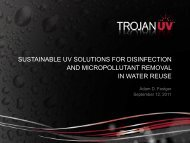 sustainable uv solutions for disinfection and micropollutant removal ...