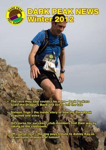 DARK PEAK NEWS Winter 2012 - Dark Peak Fell Runners