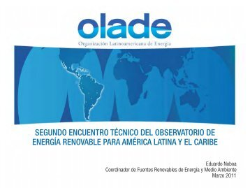 Observatorio Paraguay V4 - Observatory for Renewable Energy in ...