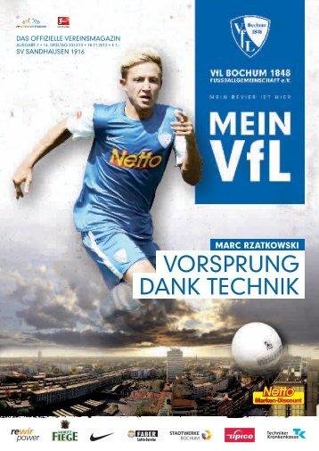 SV Sandhausen (18.11.2012) - VfL Bochum 1848