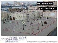 ACTIVATOR #1 ONTWERP ALS - Architectuur Lokaal
