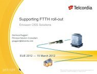 Supporting FTTH roll-out - Esri Portugal