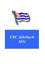 Jahrbuch 2011 - Frankfurter Ruder-Club 1884 eV