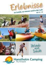 Urlaub mit Inhalt - Hanstholm Camping