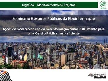 SigaGeo – Monitoramento de Projetos - MundoGEO#Connect ...