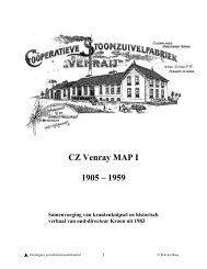 CZ. Venray-1 1905-1959 - Zuivelhistorie Nederland