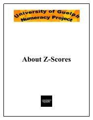 About Z-Scores - Atrium