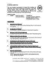 AGENDA - Haverhill Town Council