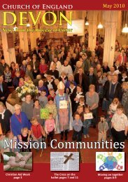 EDN - May 10 issue.indd - Diocese of Exeter