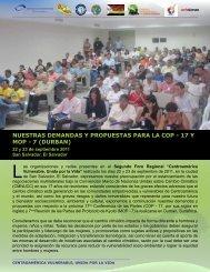 Posicionamiento redes centroamericanas - Oxfam Blogs