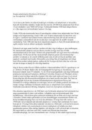 Stoppa adoptionen från Korea - Tobias Hübinette
