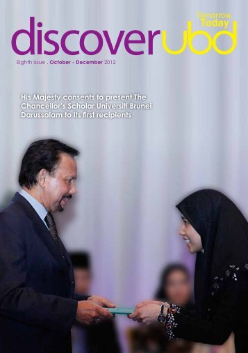 Eighth issue . October - December 2012 - Universiti Brunei ...