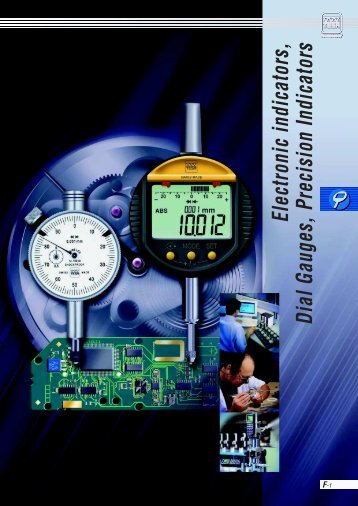 Electronic indicators, Dial Gauges, Precision Indicators