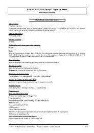 FORTIS B FIX 2007 Equity 7 Triple Six Reset - BNP Paribas ...