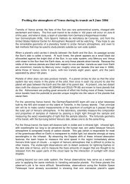 here (in PDF format, 36 kB) - Kiepenheuer-Institut für Sonnenphysik