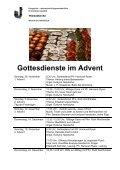 Gottesdienste im Advent - Kirchenkreis Liebefeld - Page 2