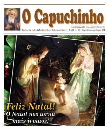 """Jornal """"O Capuchinho"""" - dezembro de 2010 - Paróquia Nossa ..."""