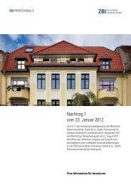 ZBI 7 Nachtrag - Heiter Investment
