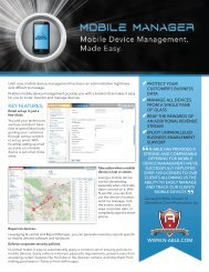 Mobile Device Management. Made Easy. - N-able Technologies