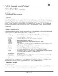 Profil de diagnostic complet VetScan® - Abaxis