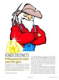FONDS DISTINCTS - Conseiller