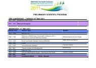 Please click here to view the preliminary program - Tour Hosts Pty ...
