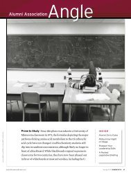 Open a PDF of the magazine layou - University of Minnesota Alumni ...