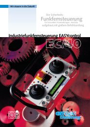 Datenblatt TH-EC/40 - Cattron-Theimeg Europe GmbH & Co. KG