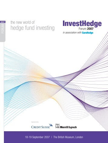 FORUM - Euromoney Institutional Investor PLC