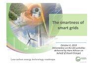 The smartness of smart grids - IEA Demand Side Management ...