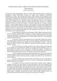 IL CODICE DI BUONA PRATICA AMBIENTALE ... - Assomineraria