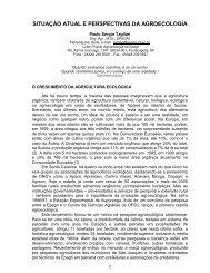 situação atual e perspectivas da agroecologia - Embrapa Suínos e ...