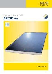 RK 2300 Alpin - Solar Energy