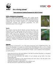 Nature interpreter Training Programme for Mai Po Wetland WWF ...