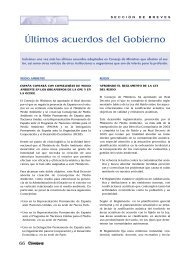 Últimos acuerdos del Gobierno - Colegio de Ingenieros Técnicos de ...