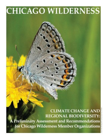 Climate Change and Regional Biodiversity - Chicago Wilderness