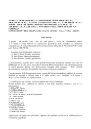 allegato - Università di Roma - Sapienza