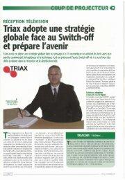 Lire l'article... - Triax