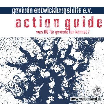 Action Guide - Govinda Entwicklungshilfe e.V.