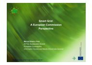 Smart Grid: A European Commission Perspective