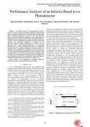 Performance Analysis of an InGaAs Based p-i-n Photodetector