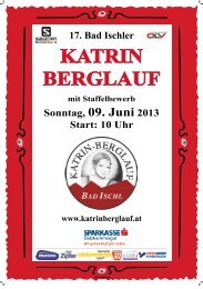 KATRIN BERGLAUF 2010 - Katrinberglauf Bad Ischl