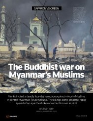 The Buddhist war on Myanmar's Muslims - Thomson Reuters