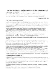 Ein Brief an Kollegen – Was Österreich gegen den Mais von ...