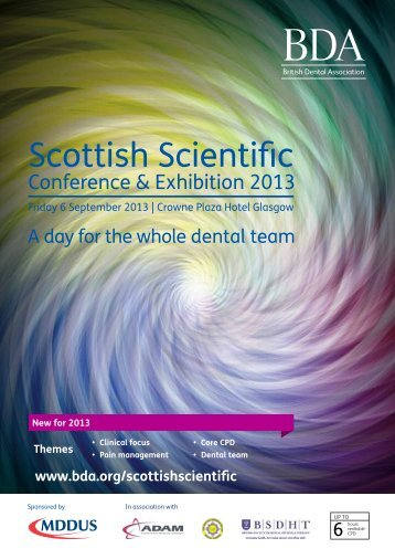 Scottish Scientific - British Society of Dental Hygiene & Therapy