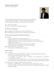 Christophe Traïni - Sciences Po Aix