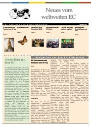 Februar Ausgabe 2012 - World's Christian Endeavor Union