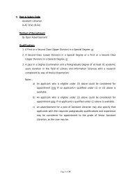 Annexure - University Grants Commission - Sri Lanka