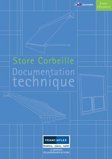 Store corbeille Franciaflex - Conseils sur les stores